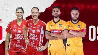 Osasco e Magnus farão transmissão de treino online na TV Nsports. Foto: Divulgação/Osasco e TKS,