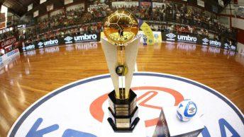 Futsal ganha 15 novas regras, mas elas não serão adotadas neste momento pela LNF.
