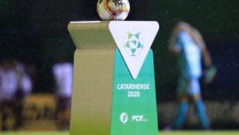 Fase Final do Catarinense será retomada dentro de 13 dias.