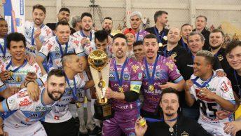 Pato faz a sua estreia na Liga Futsal 2020. Jogo entre Campo Mourão x Pato será no sábado, às 19h.