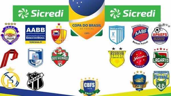 A Copa do Brasil de Futsal vai começar e você pode conferir aqui com a gente!