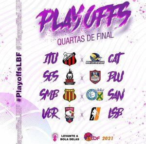Os Playoffs da LBF vão começar! Todos os jogos dessa fase decisiva da maior liga de basquete feminino você acompanha aqui na LBF Live.
