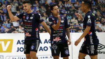 A LNF (Liga Nacional de Futsal) não para! Serão 6 jogos que prometem movimentar o final de semana recheado pela disputa das três tabelas de classificações.