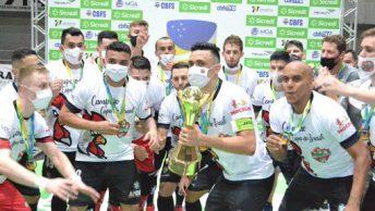A Copa do Brasil de Futsal está nas quartas de final e com vários confrontos emocionantes e todos com transmissão da TV CBFS.