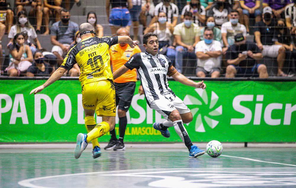 No último domingo (19), tivemos o jogo de ida da grande final da Copa do Brasil de Futsal entre Ceará e Jaraguá, no Ginásio Vozão.