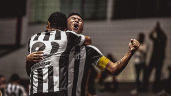 Nesse domingo (19), teremos o jogo da ida da grande Final da Copa do Brasil de Futsal, entre Ceará e Jaraguá no Ginásio Vozão, às 19h.